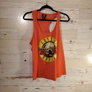 Guns N Roses graphic tank top